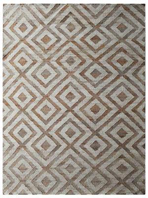 Kilim Jute solid area rug