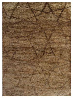 Jute contemporary area rug