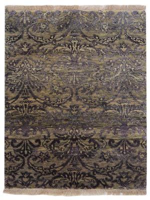 Hand tufted persian area rug