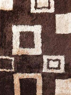 Polyester shaggy area rug
