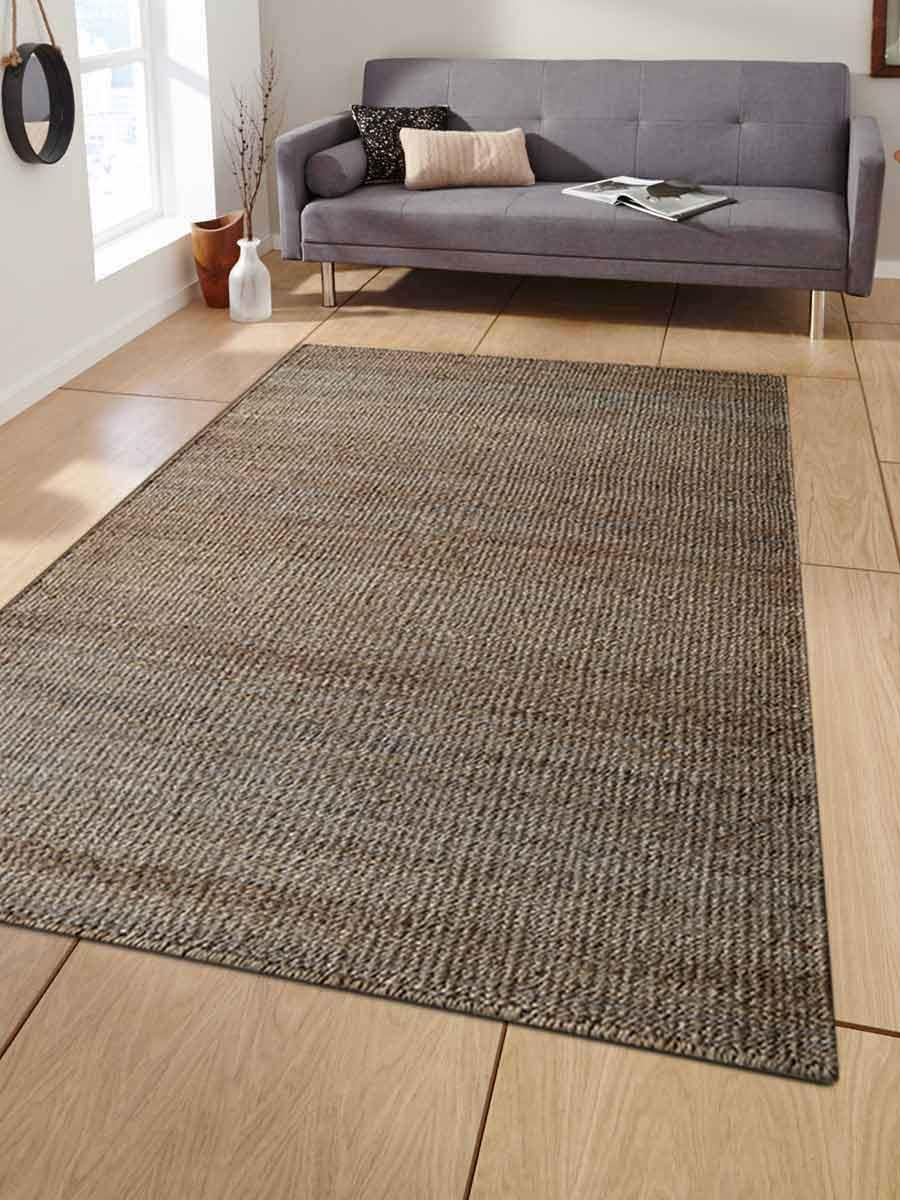 Hand Woven Jute Contemporary Eco Friendly Area Rug Natural J00008 Online Getmyrugs