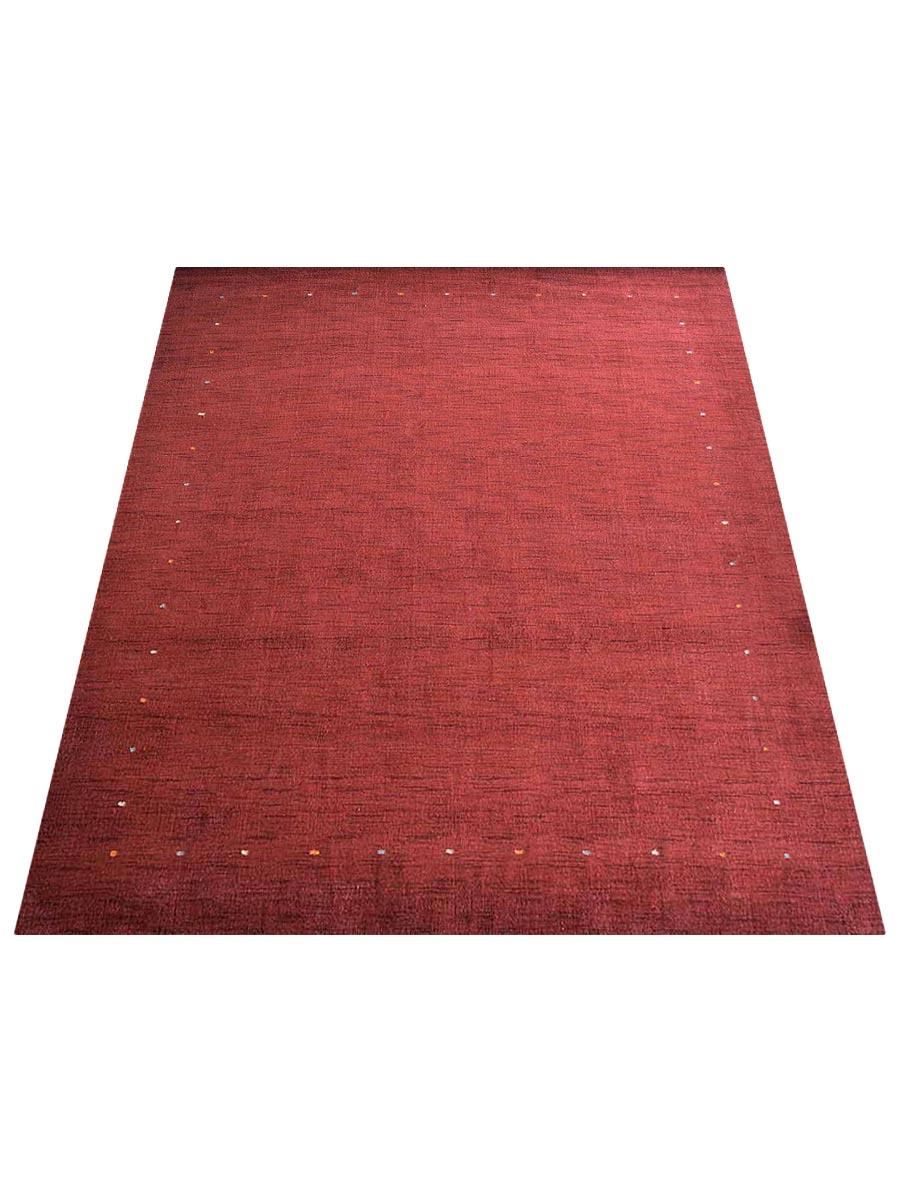 Contemporary Hand Made Border Carpet Gabbe Wool Oriental