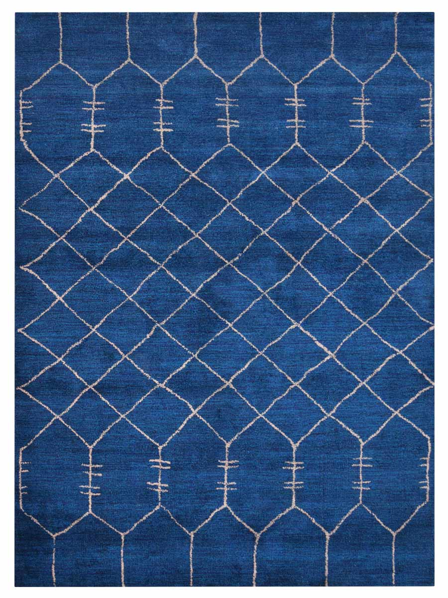 Hand Knotted Gabbeh Silk Area Rug