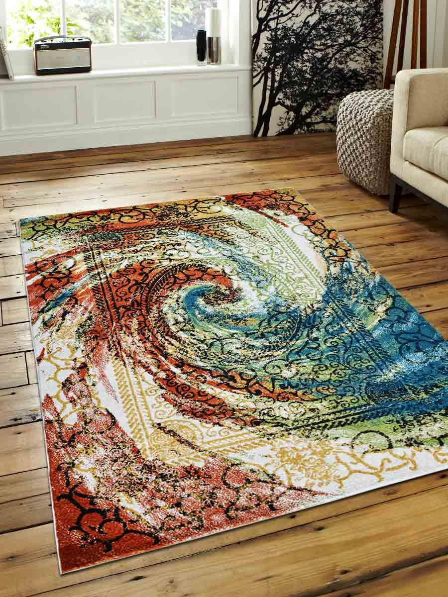 Buy Machine Woven Polypropylene 67x9 Area Rug Turkish