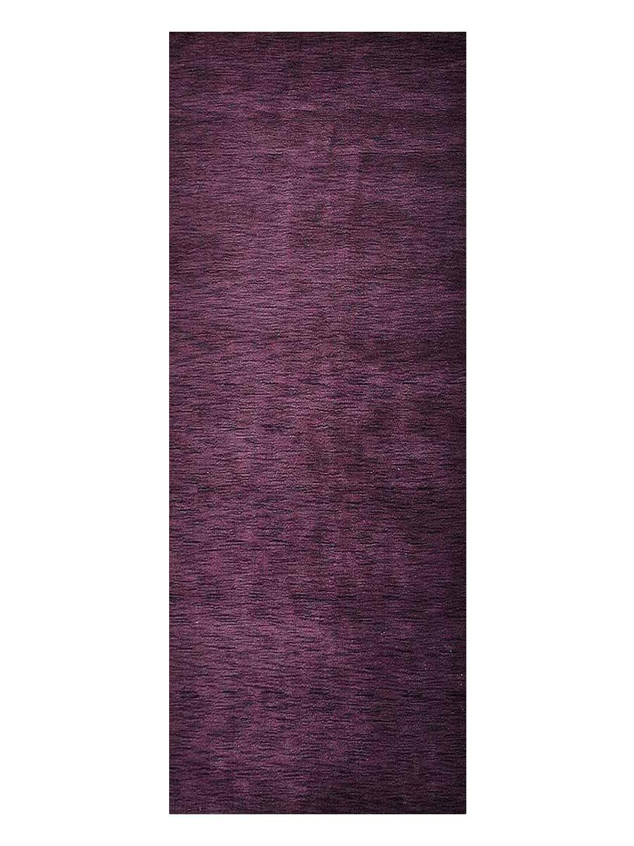 Hand Knotted Gabbe 10x13 Carpet Modern Wool Solid Purple