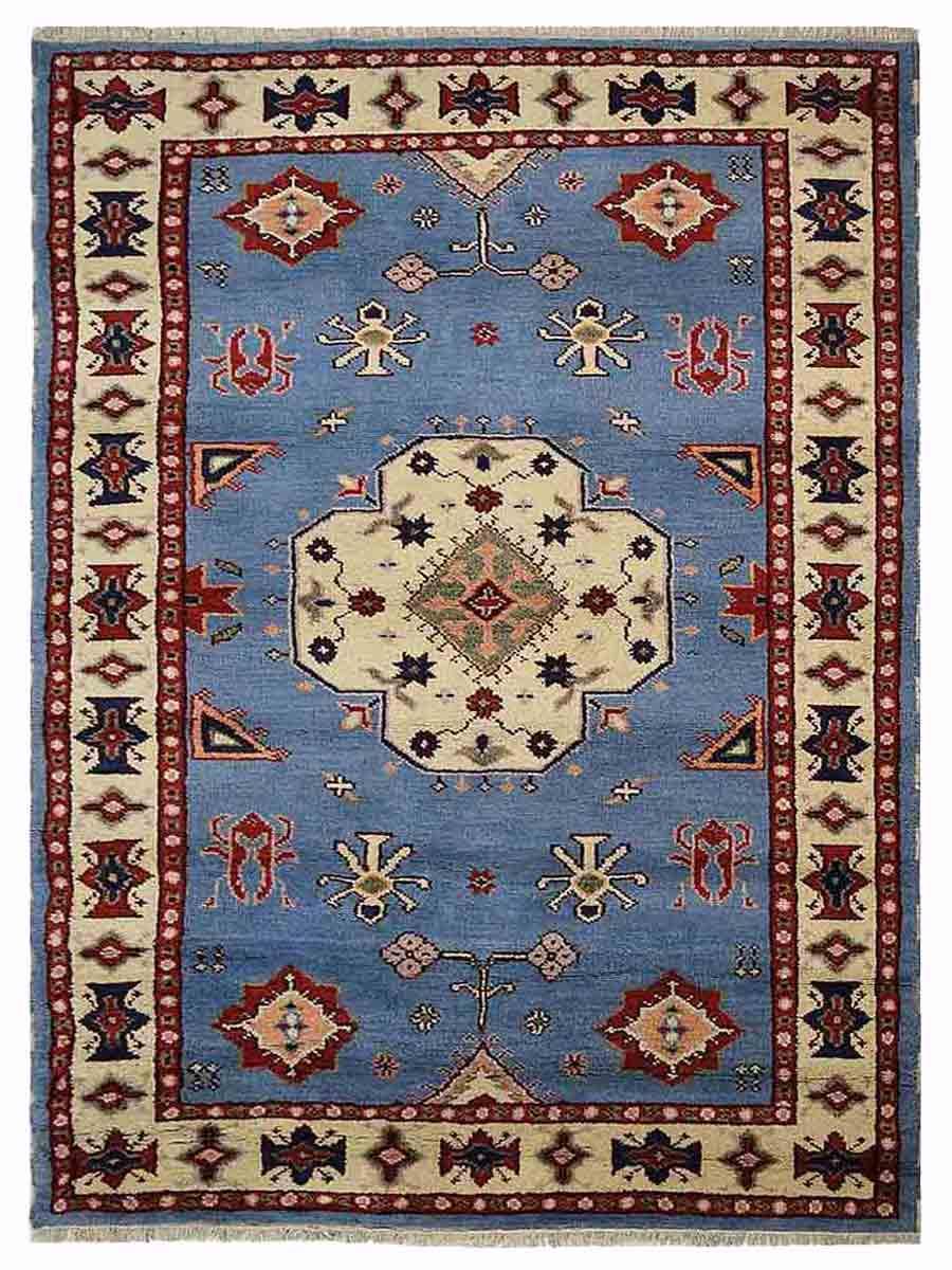 Afghan Wool Silk Rug Online